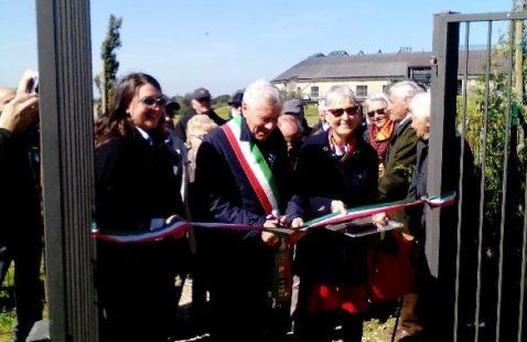 """Inaugurato a Viterbo """"Il giardino della memoria"""""""